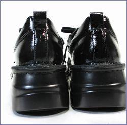 エ―オーケー  aok靴 ak84801bl  ブラック  カカトの画像