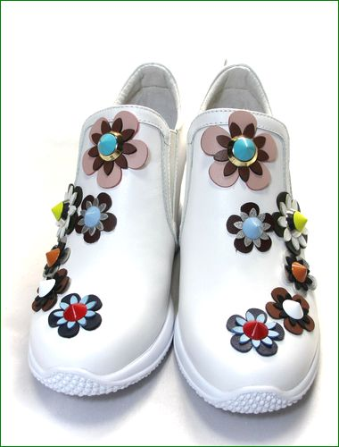 ashline アシュライン as161256wt ホワイト 両足の画像