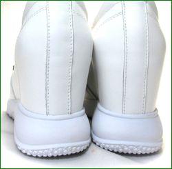 ashline アシュライン as161256wt ホワイト  カカトの画像