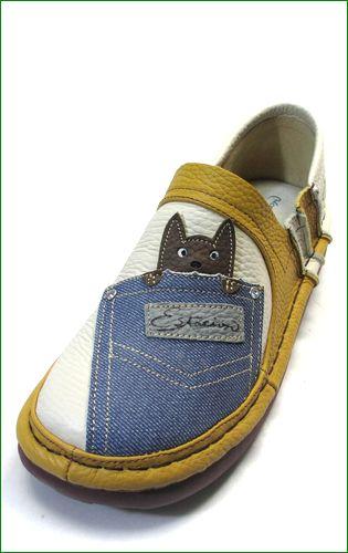 エスタシオン ネコの靴の左の画像