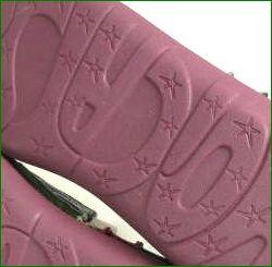 エスタシオン スイカ 靴 estacion et330grre  グリーンレッド ソール画像
