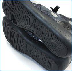 フィズリーン スニーカー fr1710bk  ブラック カカト画像