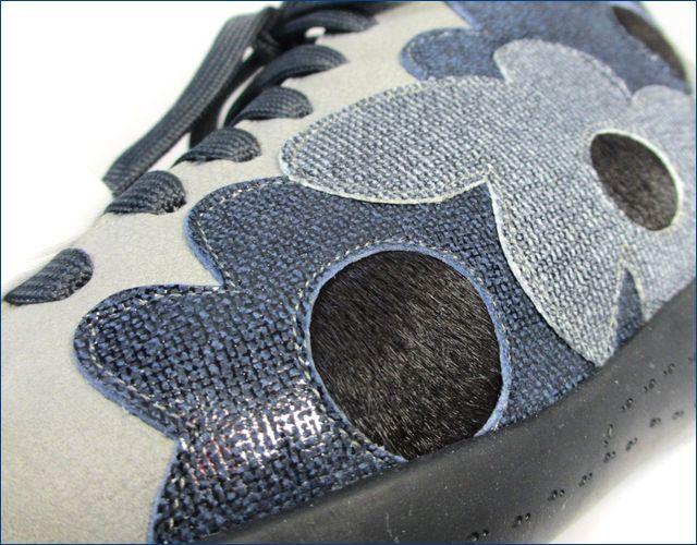 フィズリーン スニーカー fr1710gr グレイ アップ画像