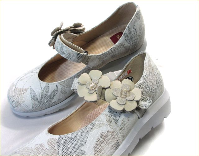 herb靴 ハーブ hb1202bg ベルトのお花の画像