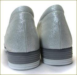 herb靴 ハーブ hb1583gy  ライトグレイ カカト部分の画像
