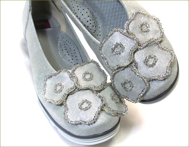 herb靴 ハーブ hb1583gy  ライトグレイ アップ画像