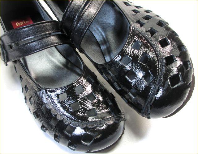 herb靴 ハーブ hb1800bl アップ画像