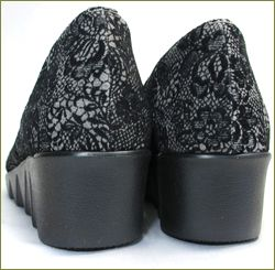 herb靴 ハーブ hb8072bl カカト部分の画像