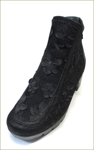 herb靴 ハーブ hb81222bl  ブラック 左側からの画像