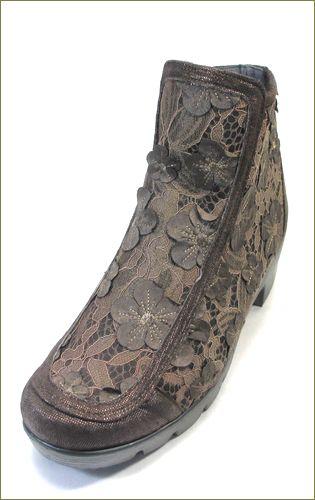 herb靴 ハーブ hb81222dn  ダークブラウン 左側からの画像
