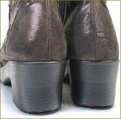 herb靴 ハーブ hb81222dn  ダークブラウン カカト部分の画像