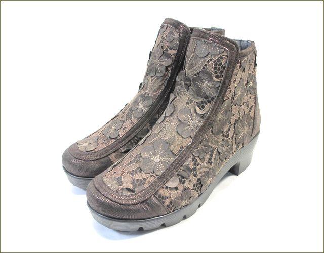 herb靴 ハーブ hb81222dn  ダークブラウン 全体の画像