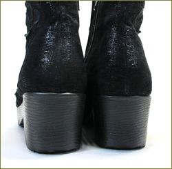 herb靴 ハーブ hb8122bl カカト部分の画像