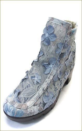 herb靴 ハーブ hb8122gy  グレイ 左側からの画像