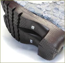 herb靴 ハーブ hb8122gy  グレイ ソールからの画像