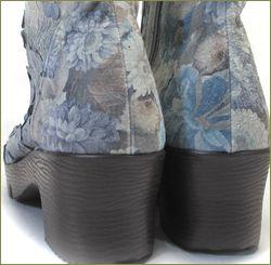 herb靴 ハーブ hb8122gy  グレイ カカト部分の画像