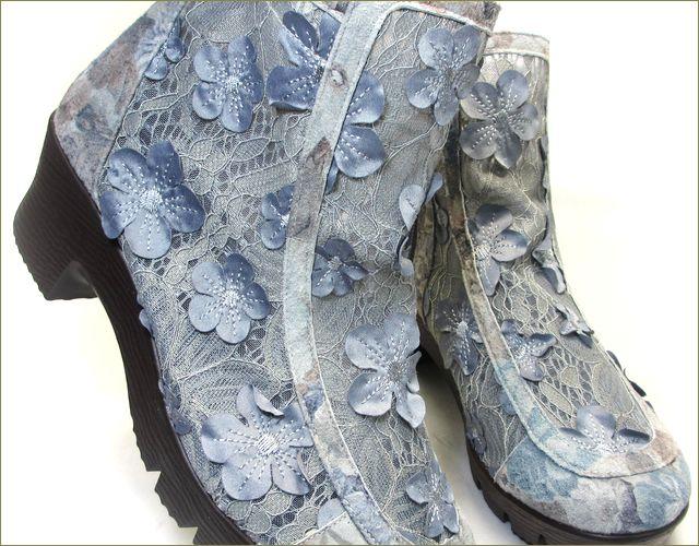 herb靴 ハーブ hb8122gy  グレイ アップ画像
