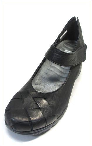 put's  プッツ靴   pt1431bl  ブラック 左画像