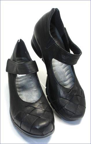 put's  プッツ靴   pt1431bl  ブラック 右画像