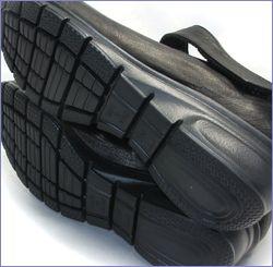 put's  プッツ靴   pt1431bl  ブラック 底画像