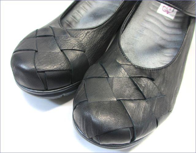 put's  プッツ靴   pt1431bl  ブラック アップ画像