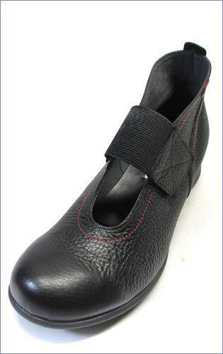 put's プッツ pt2416bl  ブラック  左靴の画像