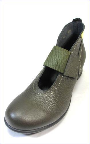 put's プッツ pt2416ka  カーキ  左靴の画像