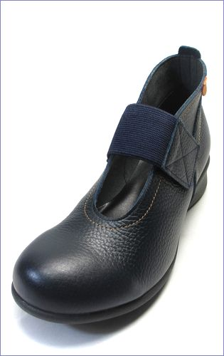 put's プッツ pt2416nv   ネイビー  左靴の画像