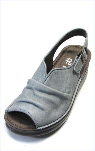 put's靴 プッツ pt4060bugy  ブル—グレイ 左画像