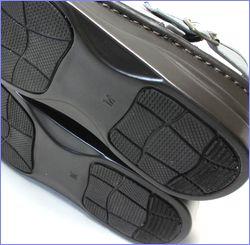 put's靴 プッツ pt4060bugy  ブル—グレイ 底画像