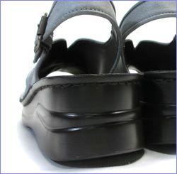 put's靴 プッツ pt4060bugy  ブル—グレイ カカト画像