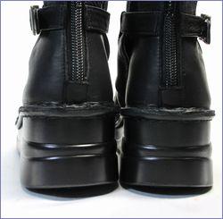 put's靴 プッツ pt4127bl  ブラック カカト画像