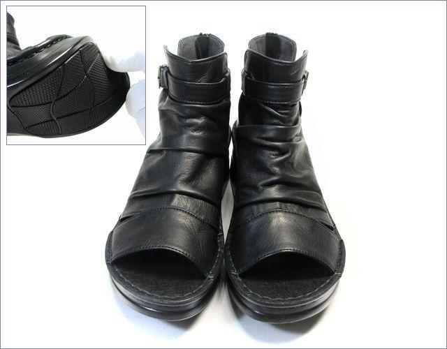 put's靴 プッツ pt4127bl  ブラック アップ画像