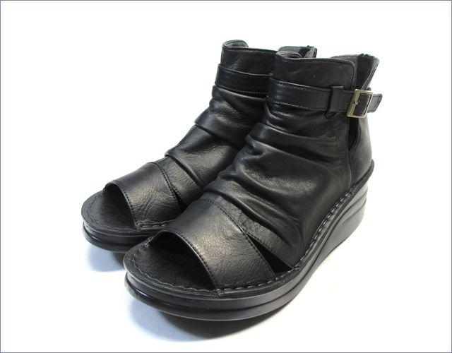 put's靴 プッツ pt4127bl  ブラック 全体画像