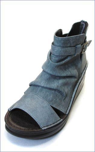 put's靴 プッツ pt4127bugy  ブル—グレイ 左画像