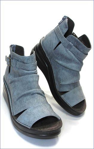 put's靴 プッツ pt4127bugy  ブル—グレイ 右画像
