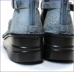 put's靴 プッツ pt4127bugy  ブル—グレイ カカト画像