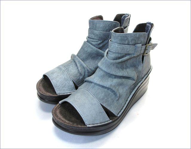 put's靴 プッツ pt4127bugy  ブル—グレイ 全体画像