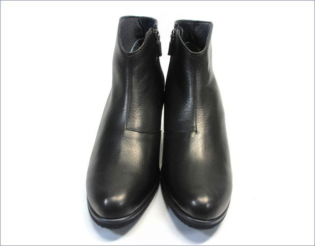 put's  プッツ靴  pt6200bl  ブラック 正面画像