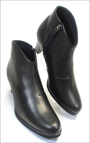 put's  プッツ靴  pt6200bl  ブラック 右画像
