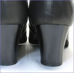 put's  プッツ靴  pt6200bl  ブラック ヒール画像