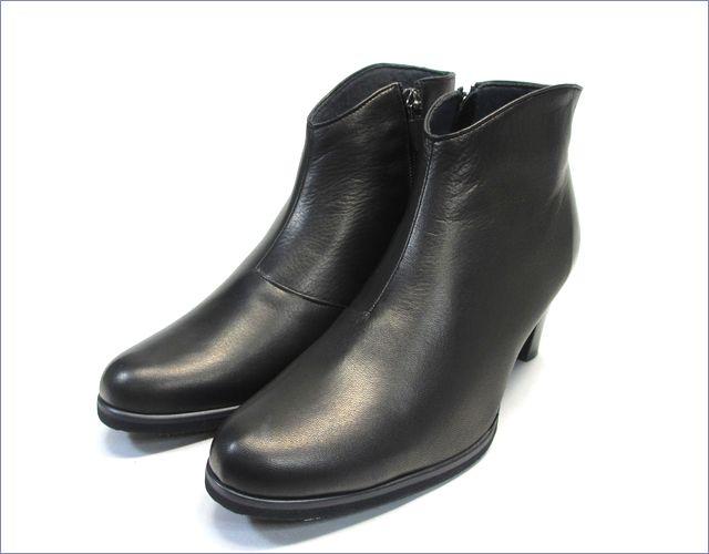 put's  プッツ靴  pt6200bl  ブラック 全体画像