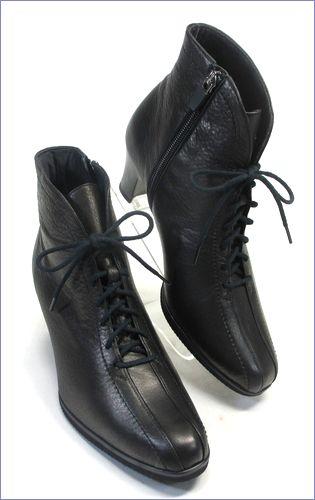 put's  プッツ靴  pt6227bl  ブラック 右画像