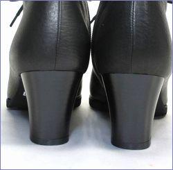 put's  プッツ靴  pt6227bl  ブラック ヒール画像