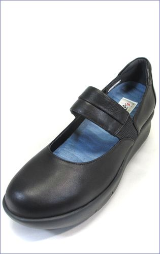 put's  プッツ靴   pt9304bl  ブラック 左画像