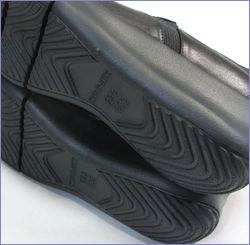 put's  プッツ靴   pt9304bl  ブラック 底画像