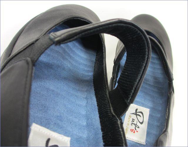 put's  プッツ靴   pt9304bl  ブラック アップ画像