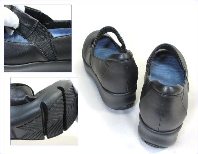 put's  プッツ靴   pt9304bl  ブラック パーツ画像