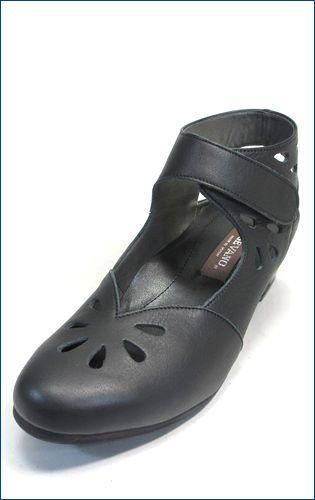 vigevano  ビジェバノ vg1860bl ブラック 左靴画像