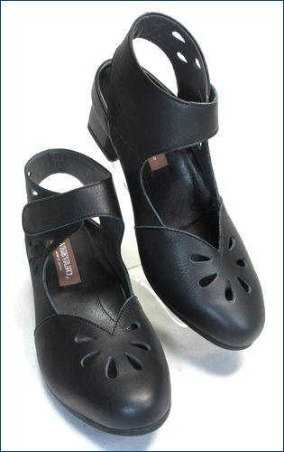 vigevano  ビジェバノ vg1860bl ブラック 右靴画像